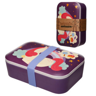 Bamboo Eco Friendly Sweet Dreams Unicorn Lunch Box