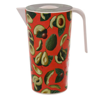 Avocado Design Eco Friendly Bamboo 1.7L Water Jug