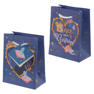Happy Birthday Princess Design Small Gift Bag