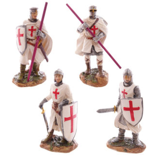 Standing Novelty Crusader Knight Figurine