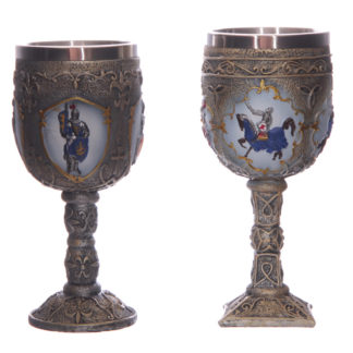 Decorative Fantasy Knight Goblet