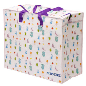 Fun Practical Laundry  and  Storage Bag - Monsters