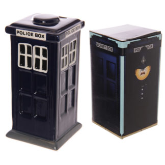 Fun Novelty Police Box Ceramic Money Box