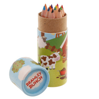 Fun Kids Colouring Pencil Tube - Bramley Bunch Farm
