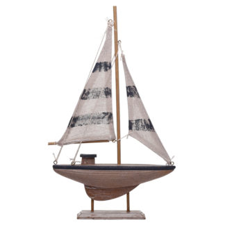 Medium Sailing Boat Nautical Decoration