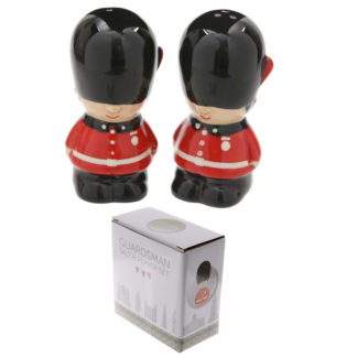 Novelty Guardsman Ceramic Salt and Pepper Set