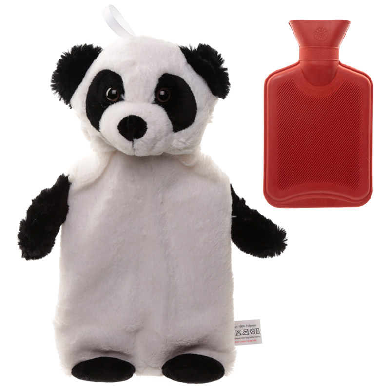 Cute Plush Pandarama Design 1 Litre Hot Water Bottle and Cover