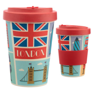 Bamboo Composite London Screw Top Travel Mug