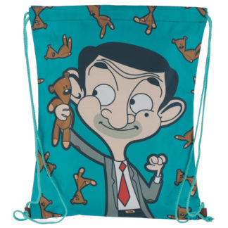 Handy Drawstring Bag - Mr Bean Teddy