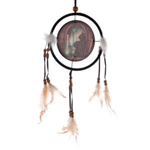 Decorative Lisa Parker Absinthe Cat Dreamcatcher Small