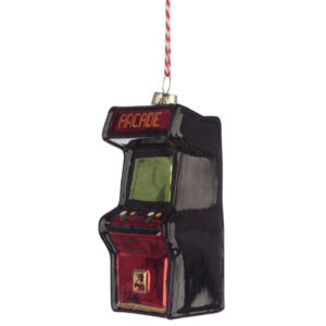 Glass Christmas Bauble - Retro Gaming Game Over Arcade Game