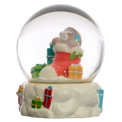 Collectable Christmas Sloth Snow Globe Waterball