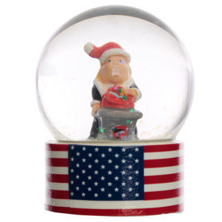 Collectable Christmas The President Snow Globe Waterball