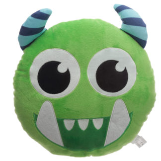 Fun Green Plush Monstarz Monster Cushion