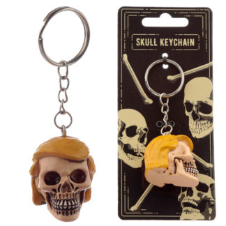 Collectable President Skull Keyring