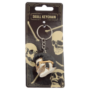 Collectable The King Skull Keyring