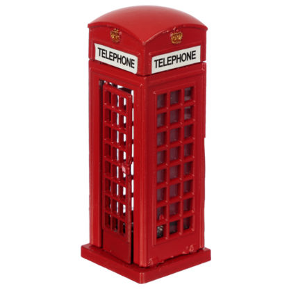 London Souvenir Pencil Sharpener - Red Telephone Box