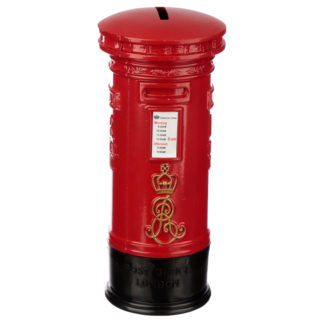 London Souvenir Pencil Money Box - Red Post Box