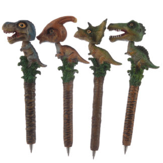 Fun Novelty Dinosaur Bobble Head Pen