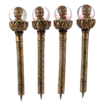 Fun Thai Buddha Waterball Novelty Pen