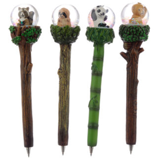 Cute Animals Waterball Novelty Pen
