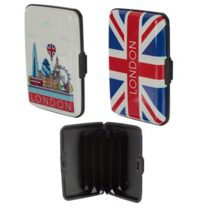 Contactless Protection Card Holder Wallet - London Icons