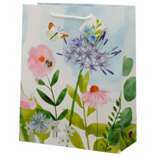 Botanical Gardens Design Large Gift Bag