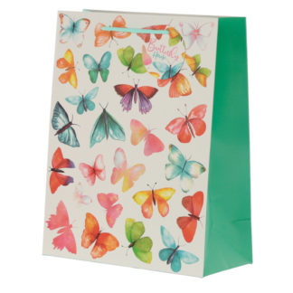 Butterfly House Large Gift Bag