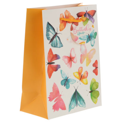 Butterfly House Medium Gift Bag