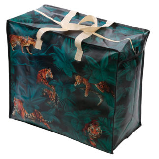 Fun Practical Laundry  and  Storage Bag - Big Cat Spots and Stripes