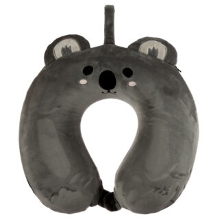 Cutiemals Koala Relaxeazzz Plush Memory Foam Travel Pillow