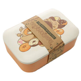 Bamboo Composite Mopps Pug Lunch Box