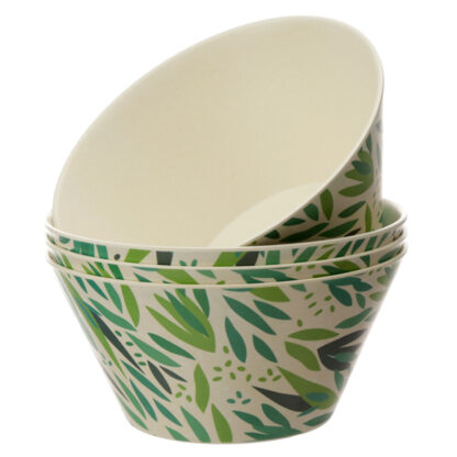 Bamboo Composite Willow Bowl Set of 4