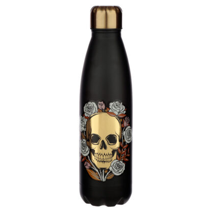Skulls  and  Roses Stainless Steel Insulated Drinks Bottle