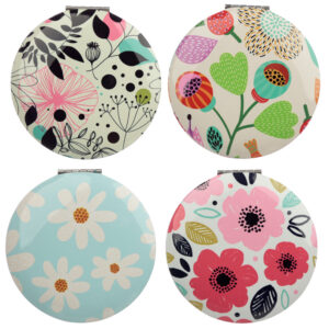 Fun Collectable Botanical Pick of the Bunch Compact Mirror