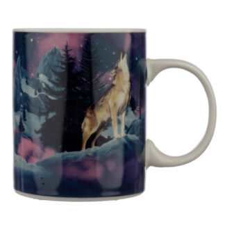 Collectable Porcelain Mug - Protector of the North Wolf