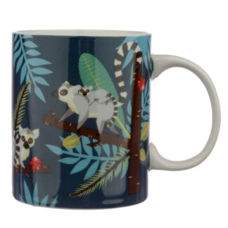 Collectable Porcelain Mug - Spirit of the Night Lemur