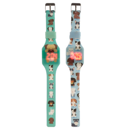 Silicone Digital Watch - Dog Squad