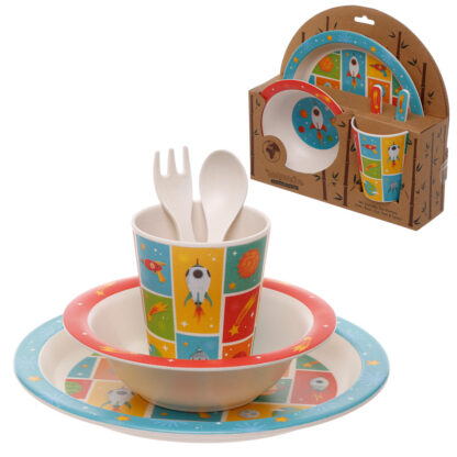 Bamboo Composite Space Kids Dinner Set