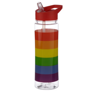 Somewhere Rainbow 550ml Reusable Water Bottle