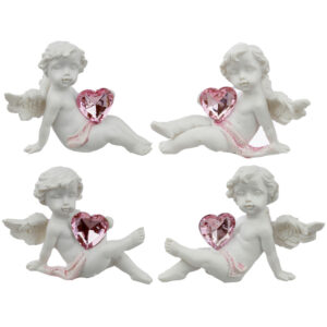 Collectable Peace of Heaven Cherub - Playful Heart