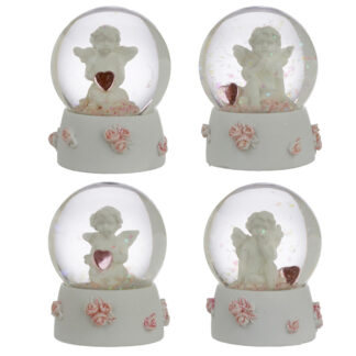 Collectable Peace of Heaven Cherub - Sweet Dreams Snow Globe