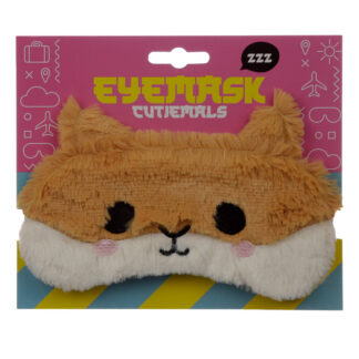 Fun Eye Mask - Plush Hamster
