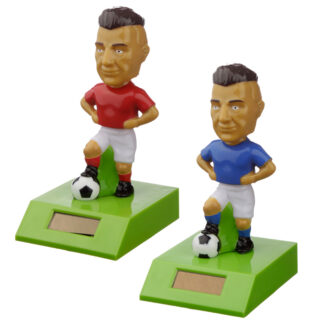 Collectable Footballer Solar Powered Pal