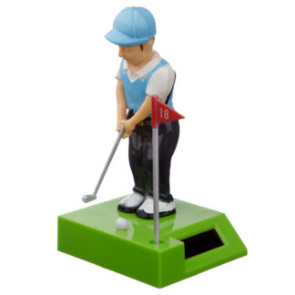 Collectable Golfer Solar Powered Pal