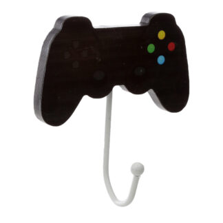 Fun Wooden Wall Hook - Retro Gaming Game Over