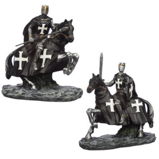 Collectable Dark Knight on Horseback Figurine
