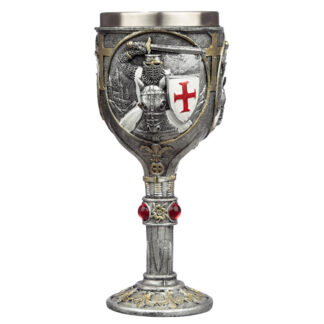 Collectable Decorative Crusader Knight Goblet