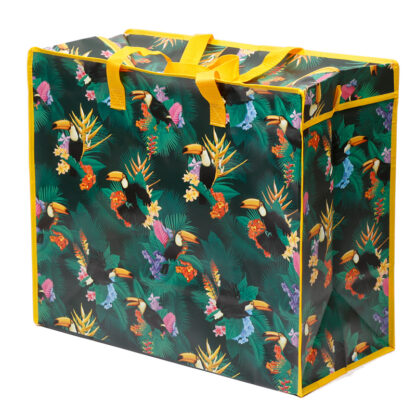 Fun Practical Laundry  and  Storage Bag - Toucan Party