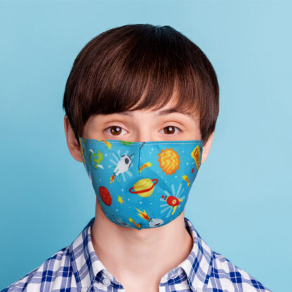 Space Cadet Reusable Face Covering - Small